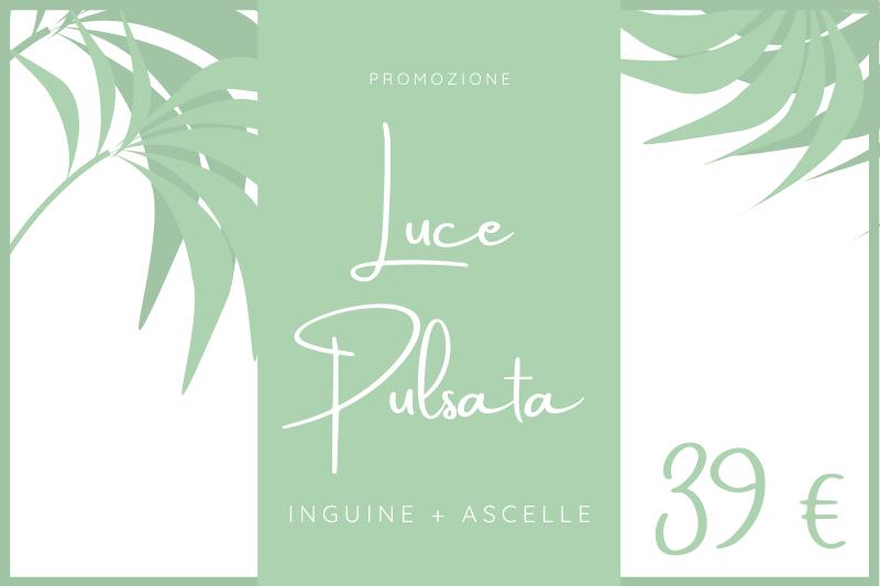 Luce pulsata | inguine+ascelle